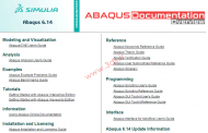 مروری بر Abaqus Documentation