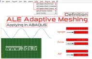 ALE Adaptive Mesh در آباکوس