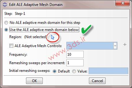 ALE Adaptive Mesh در نرم افزار آباکوس
