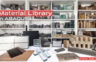 Material Library در آباکوس