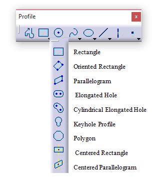 ابزار ترسیم چند ضلعی در نرم افزار کتیا