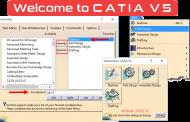 آموزش فعال کردن پنجره Welcome to CATIA V5