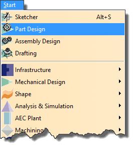 آموزش تنظیمات پنجره Welcome to CATIA V5 در نرم افزار کتیا