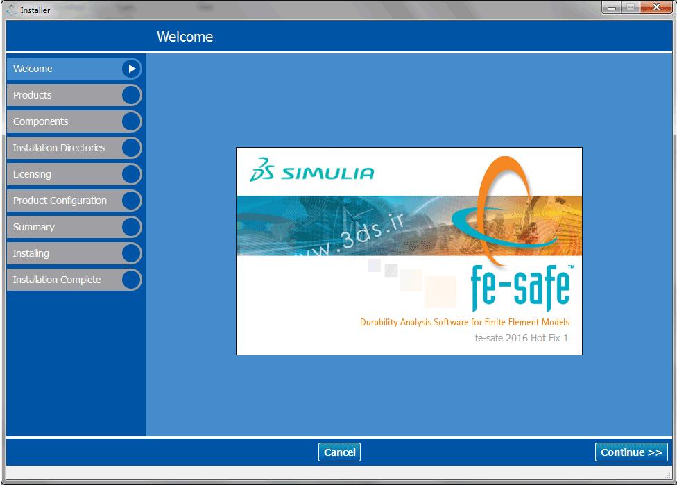 دانلود SIMULIA FE-SAFE 2016 HF1 x64 - نرم افزار قدرتمند تحلیل خستگی برای مدل های المان محدود