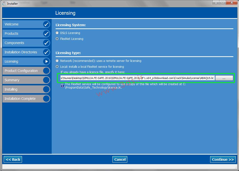 آموزش نصب SIMULIA FE-SAFE 2016 HF1 x64 - نرم افزار قدرتمند تحلیل خستگی برای آباکوس