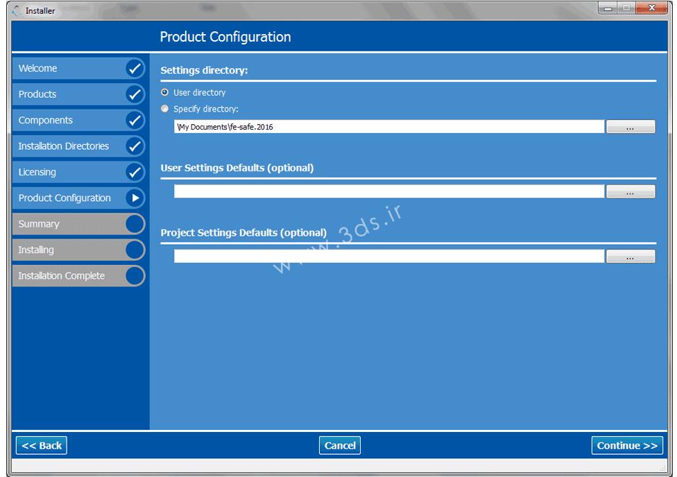 آموزش نصب SIMULIA FE-SAFE 2016 - نرم افزار قدرتمند تحلیل خستگی برای آباکوس