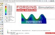 شبیهسازی فرآیند فورج در آباکوس