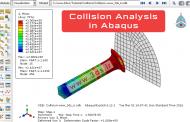 شبیهسازی و تحلیل برخورد (ضربه) در نرمافزار آباکوس