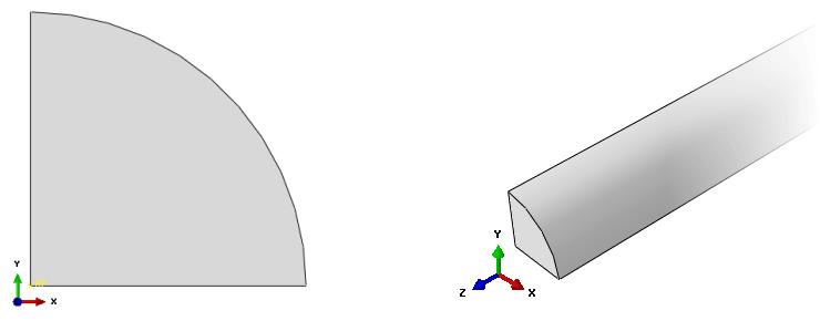مدلسازی برخورد در نرمافزار abaqus