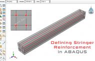 مدلسازی میلههای تقویتی در سازه توسط نرمافزار آباکوس