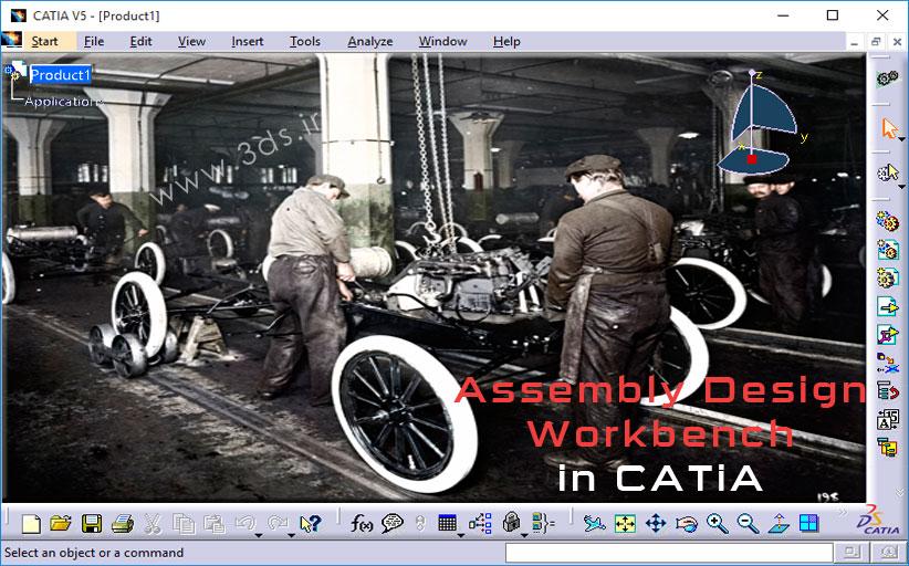 آموزش محیط Assembly Design کتیا