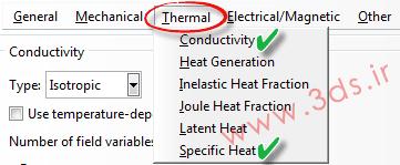 ضریب Conductivity در مدلسازی و تحلیل انتقال حرارت در فرآیند جوشکاری توسط آباکوس