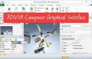 رابط گرافیکی نرمافزار 3DVIA Composer