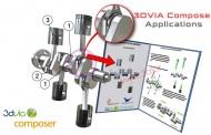 کاربردهای نرمافزار 3DVIA Composer