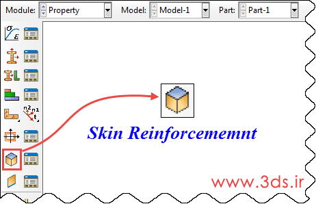 نحوه ایجاد Skin Reinforcement در آباکوس