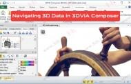 هدایت و کنترل اشیا در فضای سهبعدی نرمافزار 3DVIA Composer