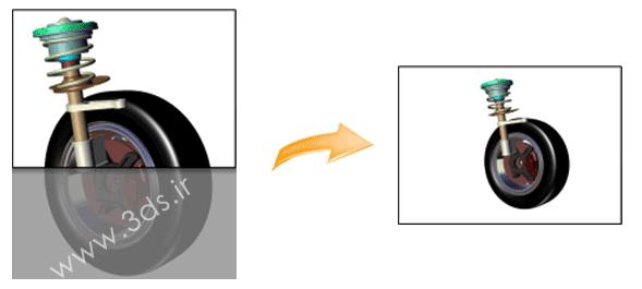 ابزار Zoom Fit All در نرمافزار 3DVIA Composer