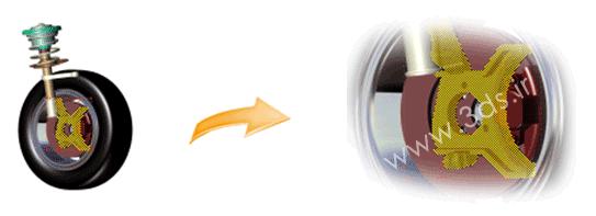 ابزار Zoom Selection در نرمافزار 3DVIA Composer