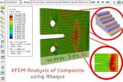 مدلسازی-تحلیل رشد ترک سهبعدی ورق کامپوزیتی با روش XFEM در آباکوس