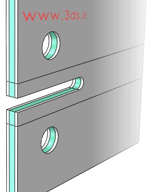 سطح مقطع در تحلیل رشد ترک سهبعدی ورق کامپوزیتی با روش XFEM در آباکوس