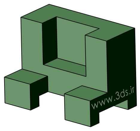 دانلود تمرین محیط Part Design نرمافزار CATIA