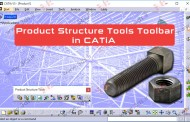 جعبه‌ابزار Product Structure Tools کتیا