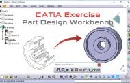 تمرین محیط طراحی قطعات سهبعدی Part Design کتیا – تمرین دوم