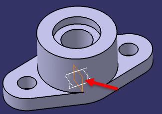 ایجاد سوراخ جانبی روی قطعه در کتیا