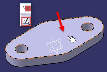 محیط طراحی دوبعدی Sketcher کتیا