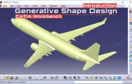 محیط Generative Shape Design کتیا