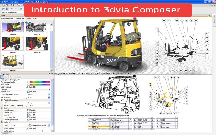 نرمافزار 3DVIA Composer