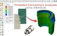 تحلیل اتصالات رزوهدار توسط آباکوس