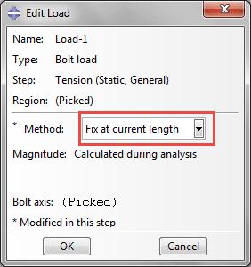 شیوه اعمال بار Fixed at Current Length در آباکوس