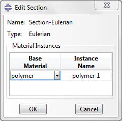 تعریف سطح مقطعی از نوع Eulerian با پلیمر در آباکوس