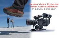 نماهای دوربین، حالتهای نمایش و انتخاب اشیا در نرمافزار 3DVIA Composer