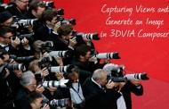 تصویربرداری از نماها و ذخیره تصاویر در نرمافزار 3DVIA Composer