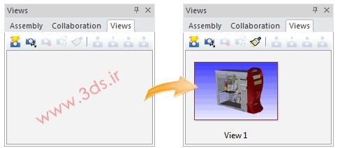 تعریف نما (View) در نرمافزار 3DVIA Composer