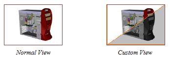 نما (View) در 3DVIA Composer