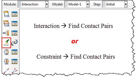 نحوه فعال کردن ابزار Find Contact Pairs در آباکوس