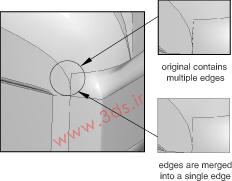 ابزار Merge در جعبهابزار Geometry Edit آباکوس