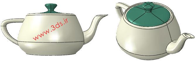 دانلود مدل سه بعدی قوری چای