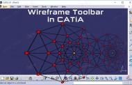 ترسیم المانهای Wireframe در فضای سهبعدی کتیا - نقطه، خط و صفحه