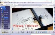 آموزش ابزارهای جعبهابزار Views محیط نقشهکشی Drafting کتیا