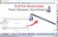تمرینهای کتیا Part Design - تمرین پنجم