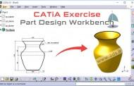 مجموعه تمرینات کتیا: محیط Part Design - تمرین ششم