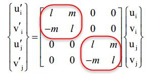 ماتریس انتقال یا Transformation Matrix در المان میله