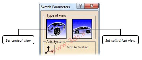 تعیین موقعیت و مقیاس طرح در محیط Sketch Tracer کتیا