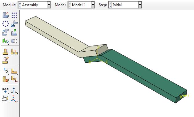 مجموعه اتصال جوشی زیر تحت بارگذاریهای متعدد کشش، خمش و پیچش