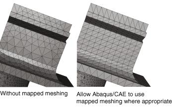 تکنیک Mapped Meshing