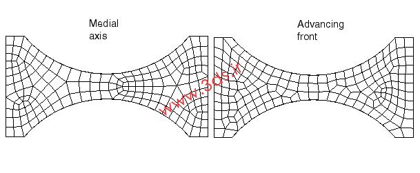 Medial Axis یا Advancing Front؛ کدام الگوریتم بهتر است؟